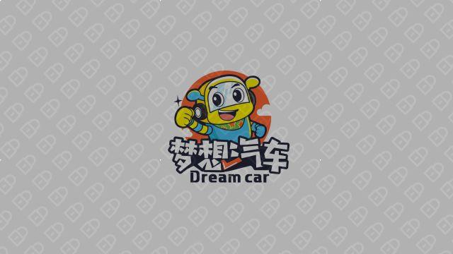 梦想汽车品牌LOGO设计 入围方案4