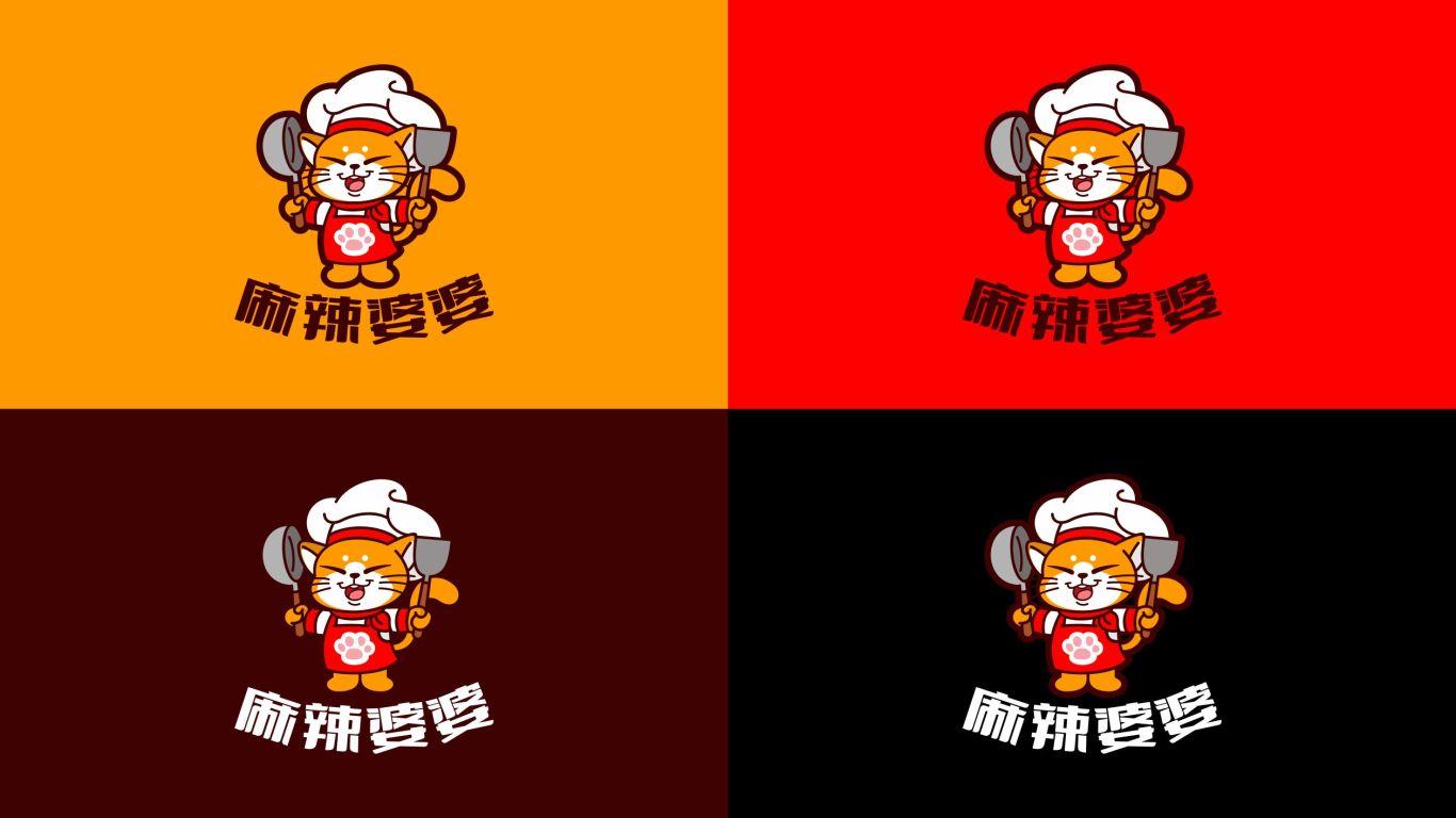 麻辣婆婆品牌LOGO设计中标图3
