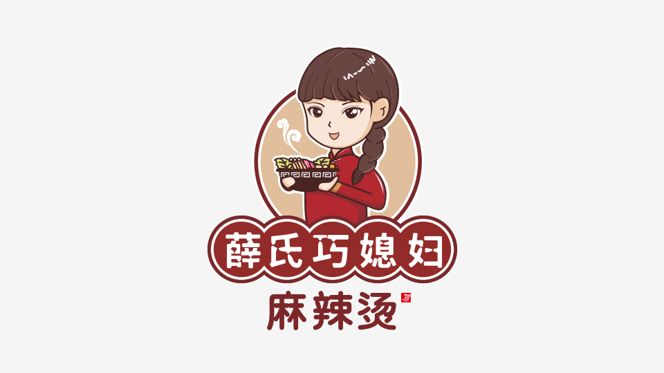 薛氏巧媳妇品牌LOGO设计