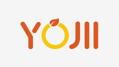 YOJII LOGO品牌标志设计
