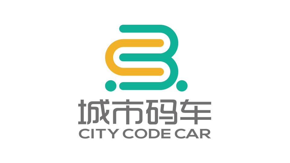 城市码车品牌LOGO设计