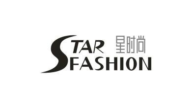 星時尚logo設計
