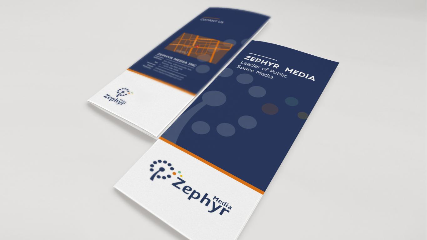 Zephyr Media品牌折页设计中标图3