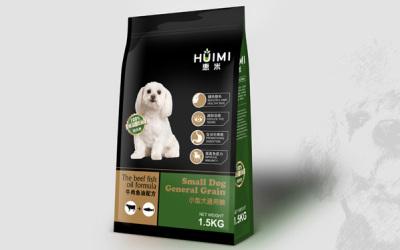 惠米狗粮包装设计