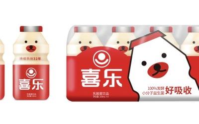 喜乐乳酸菌包装升级