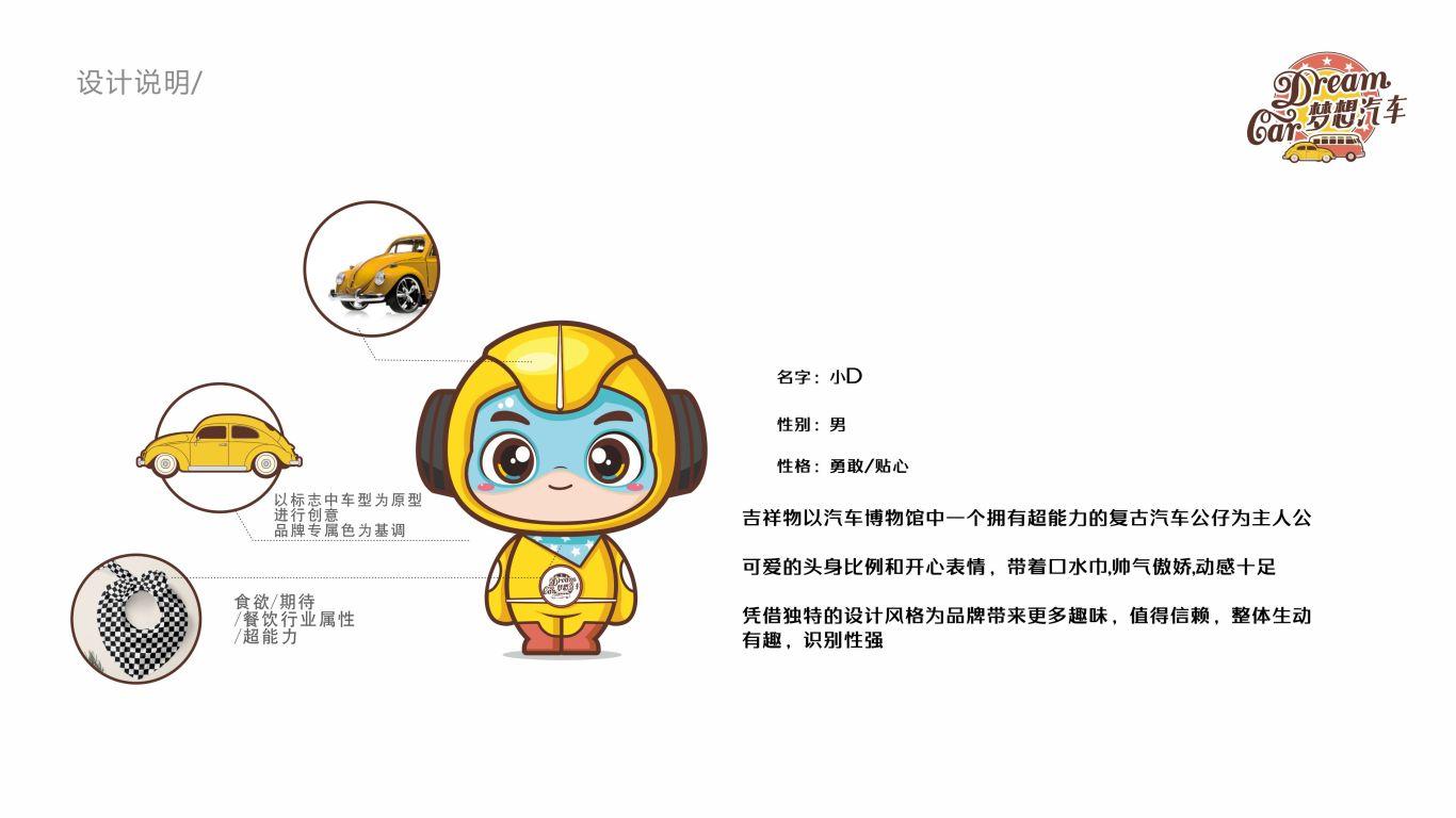 梦想汽车品牌吉祥物设计中标图1
