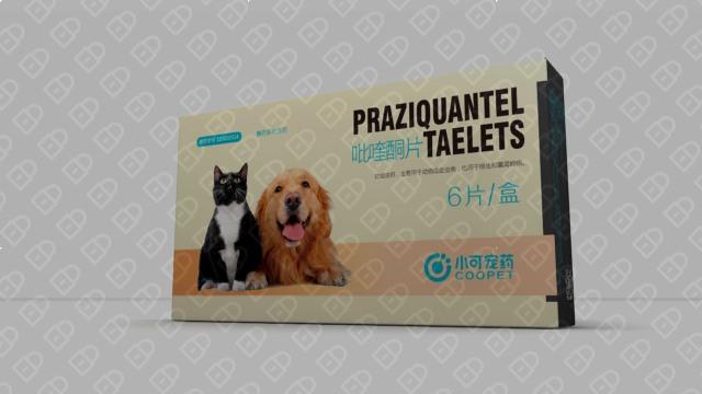 小可宠药品牌包装设计入围方案2