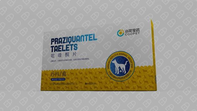 小可宠药品牌包装设计入围方案1