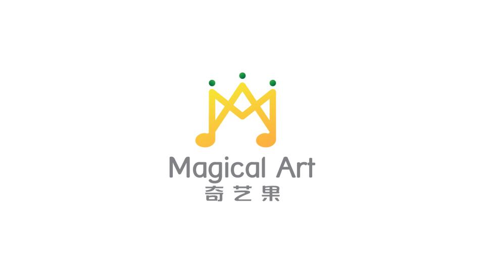 奇艺果音乐教育公司LOGO设计
