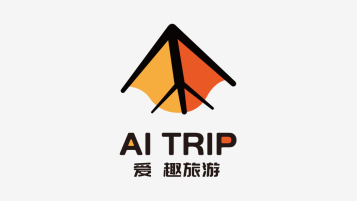 AI TRIP品牌标志设计