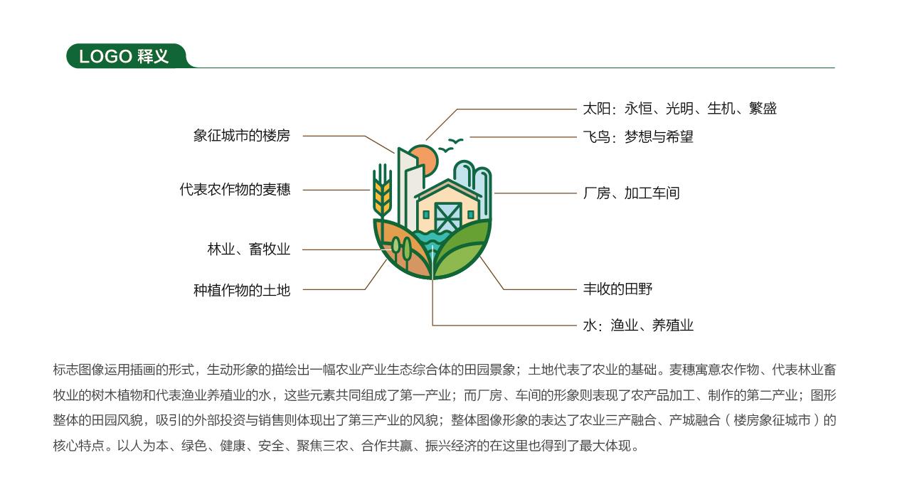 鲁振农业品牌LOGO设计中标图1