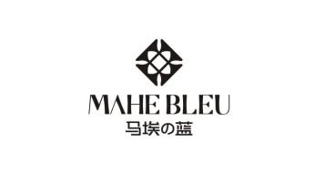 马埃の蓝品牌LOGO设计