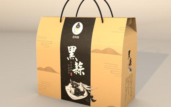 黑蒜包装设计