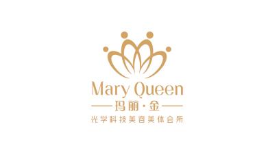 瑪麗金品牌LOGO設計
