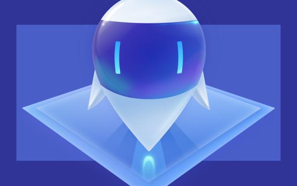 聯想電腦管家機器人形象設計