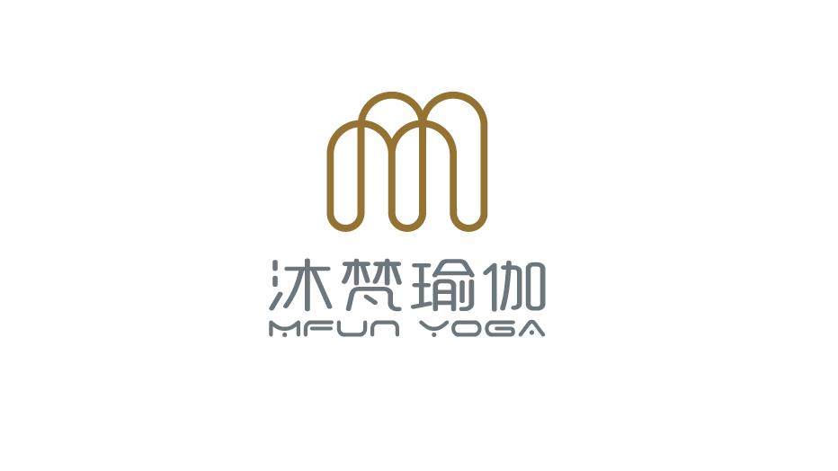 沐梵瑜伽品牌LOGO设计