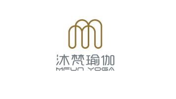 沐梵瑜伽品牌LOGO設計