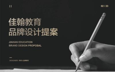 佳翰教育品牌VI设计