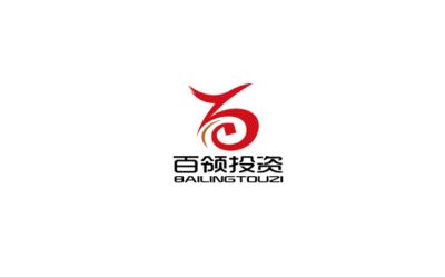 百領投資公司的logo設計
