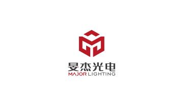 旻杰光电品牌LOGO设计