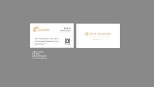 滨海(天津)金融资产交易中心股份有限公司名片设计
