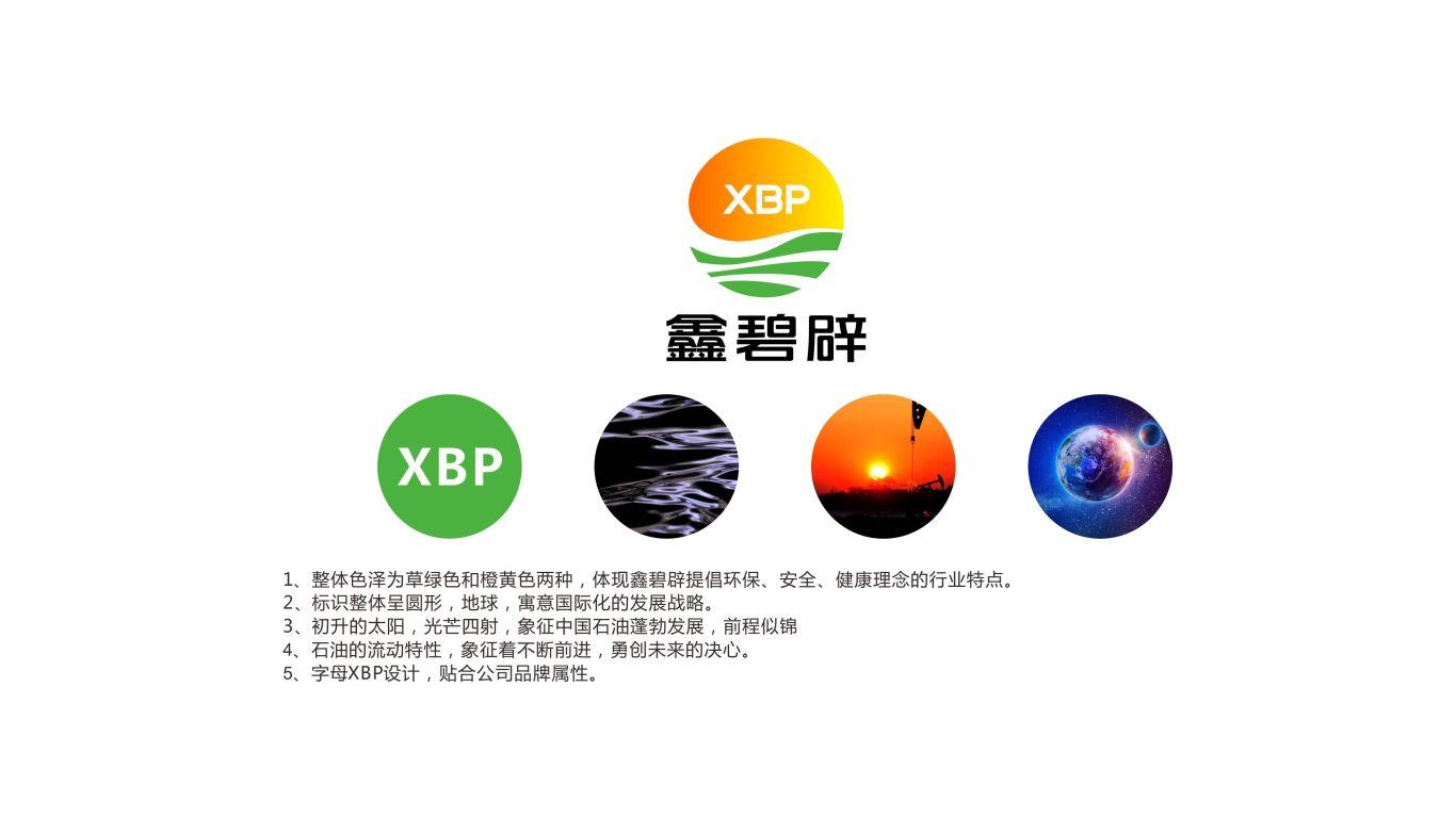 鑫碧辟品牌LOGO設計中標圖0