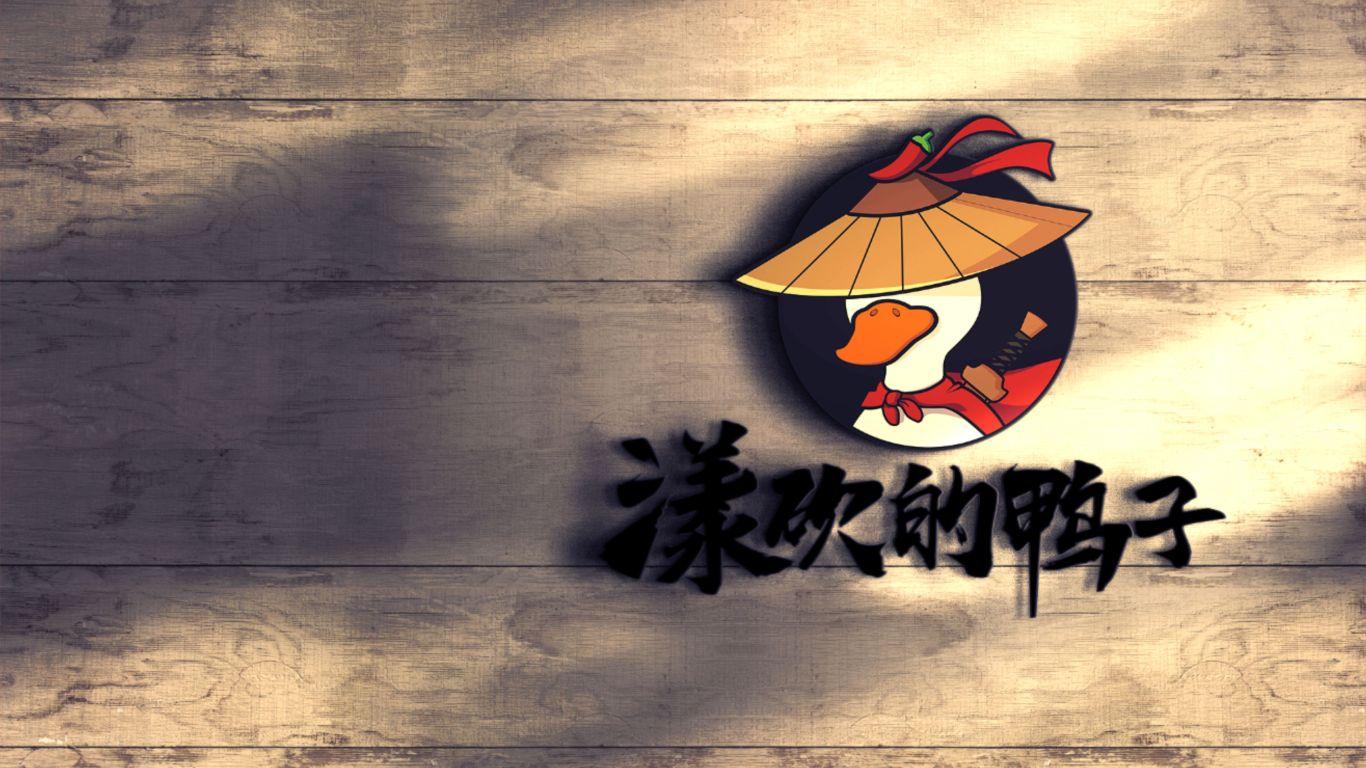 漾砍的鸭子品牌LOGO设计中标图3