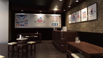 食寵店面門頭環境設計