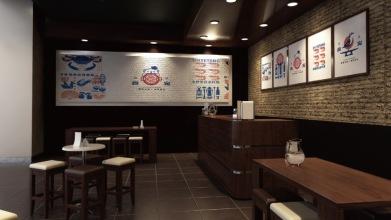 食宠店面门头环境设计