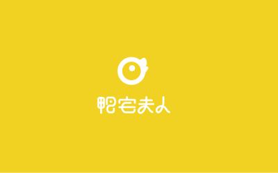 鸭宅夫人logo设计