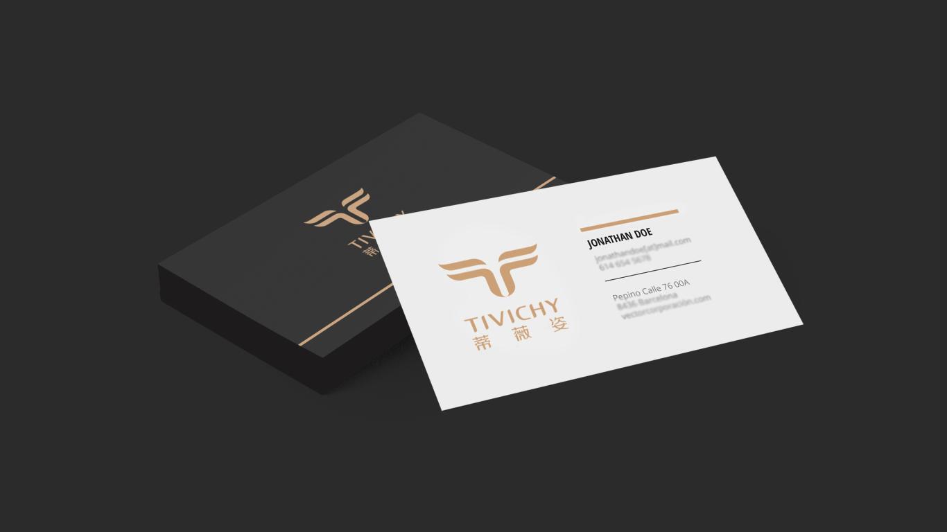 蒂薇姿美容品牌LOGO設計中標圖8