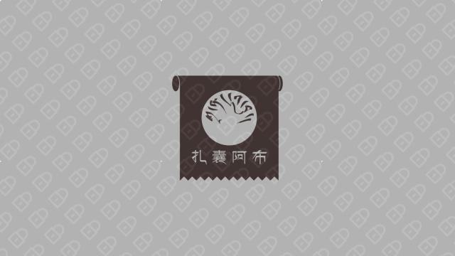 西藏五五五商贸公司LOGO设计入围方案5