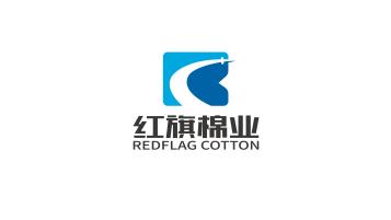 红旗棉业品牌LOGO设计