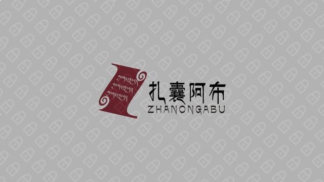 西藏五五五商贸公司LOGO设计入围方案3