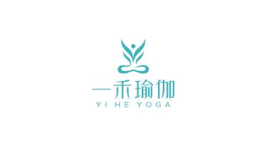 一禾瑜伽品牌LOGO设计