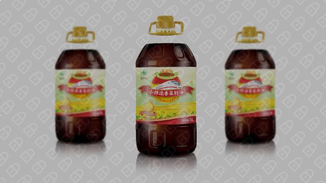 金食坊食用油品牌包装设计入围方案2