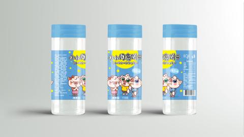 小月亮饼干品牌包装设计