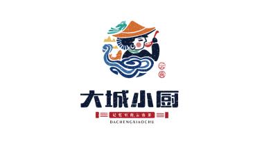 大城小廚品牌LOGO設計