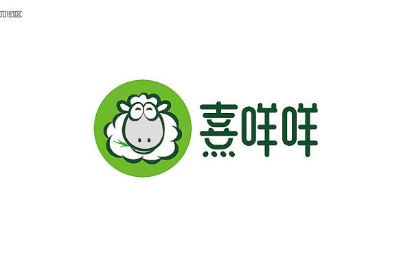 熹咩咩鲜羊肉logo