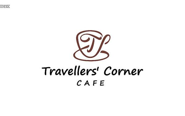 旅行者角落咖啡logo