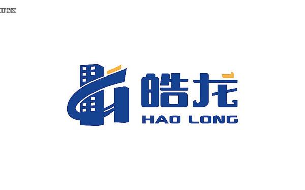 皓龙房产logo