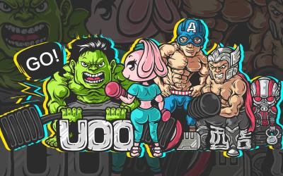 UOO科技健身IP