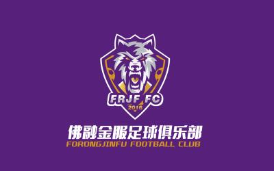 佛融金服足球俱乐部logo设计