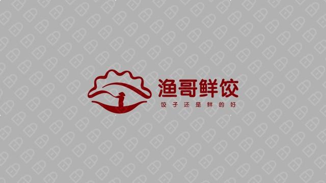渔哥鲜饺品牌LOGO设计入围方案1