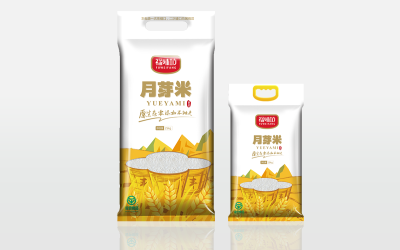 福味坊大米系列包裝策劃
