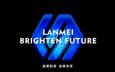 蓝美led亮化工程科技品牌设计