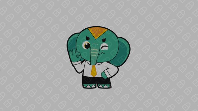 Giob公司吉祥物设计入围方案3