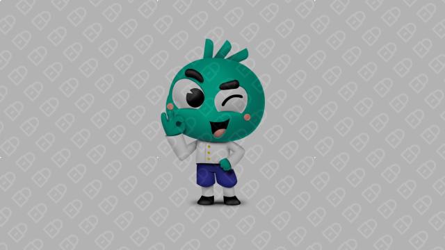 Giob公司吉祥物设计入围方案1