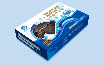 印度洋花蟹包裝盒設計