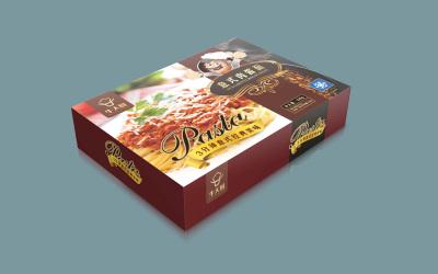 意大利面包装盒设计
